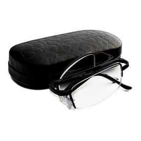 La Mitad Plegable Negra Con Borde De Gafas De L Envío Gratis