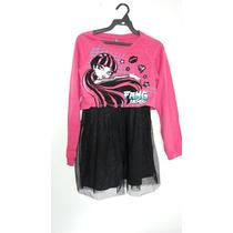 Vestido Monster High Nuevo Con Etiquetas Talla 10-12