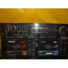 Micro System Philips Ar-675 - D.deck - Radio - Impecavel -