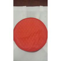 Tortillero Tela No Tejida Capitonado Rojo Promocional