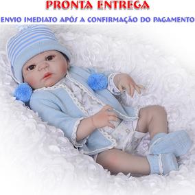 Bebe Reborn Arthur Menino Todo Em Silicone Pronta Entrega