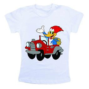 Camiseta Infantil Pica Pau Hw1653