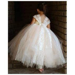 Vestidos De Niña Dama De Honor Boda Princesa Comunion 3 Años