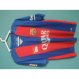 Camiseta Original Barcelona Fc Talla M - Niños O Jovenes