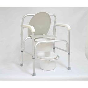 Cadeira Para Idoso, Higiênica E Banho Toda Em Alumínio