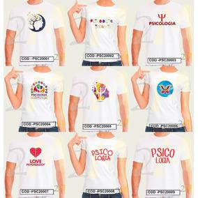 Camiseta Psicologia Baby Look Camisa Curso Faculdade Psico
