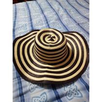 Sombrero Vueltiao Colombiano 15 Cebra Original C/cinturón