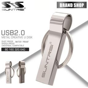 Pen Drive 32gb Usb 2.0 Marca Suntrsi Metal Chaveiro