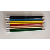 100 Lápis Com Borracha Para Personalizar - Consulte As Cores