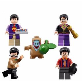 Lego Compatible The Beatles Incluye 5pz + Envio Gratis