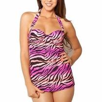 Trajes De Baño Blusa Copa 38d Con Bikini Xl