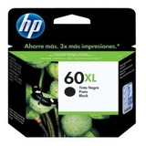 Cartucho Hp 60xl Negro 600 Páginas Para Deskjet D2560