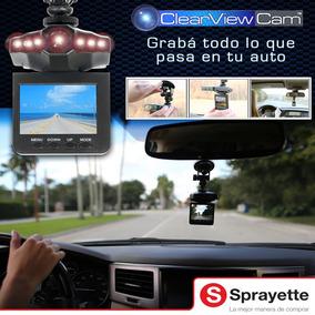 Cámara De Seguridad Para Su Auto Clear View Cam