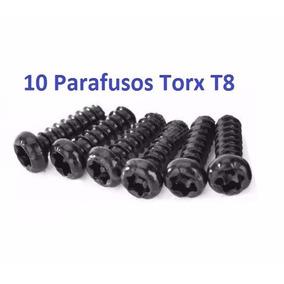 10 Parafusos Torx T8 Console Ps3 Ps4 E Controle X360; One