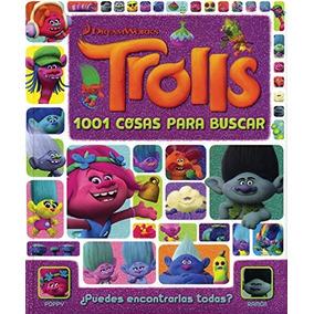 Libro Trolls - 1001 Cosas Para Buscar - Nuevo