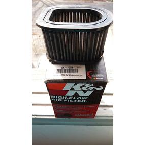 Filtro K&n Z750 Tampa De Oleo Esportivo 4 Velas Iridium Usad