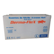 Caja Guantes Quirúrgicos Nitrilo Azul  Caja X 100 Unidades
