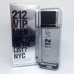 212 Vip Men 200ml | Original Lacrado + Amostra De Brinde