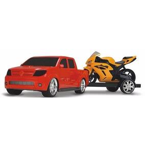 Camion Con Moto