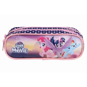 Estojo 11150 My Little Pony Soft, 2 Divisões,estampado - Dmw