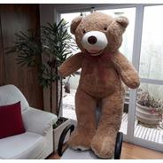 Urso De Pelúcia Grande Creme 150cm + Enchimento Frete Grátis