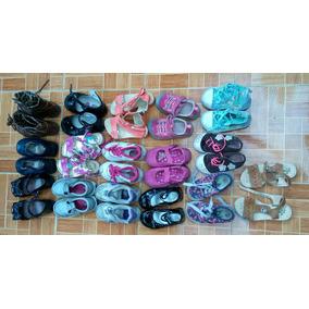Zapatos Para Nina Lote 16 Pares Talla 15 1/2 A 16