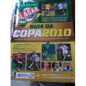 Guia Copa Do Mundo 2010 Com Tabela Em Branco Revista Placar