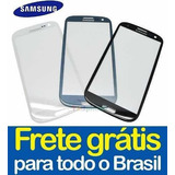 Tela Vidro Galaxy S3 I9300 Touch Screen Visor - Frete Gráti