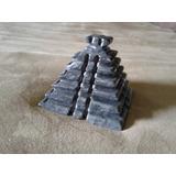 Pirámide Azteca De Piedras Preciosas Mármol, Onix, Cuarzo,