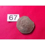 Moneda Con Error 10 Pesos Hidalgo Clipet 1978 #67