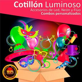 Combo Cotillón Luminoso 406 Articulos Led Neón Flúo