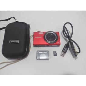 Camera Digital Fotografica Samsung Sh100 14mp Usada Barata