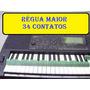 Réguas Teclado Yamaha Psr S950 Kit / Par Novo Frete Grátis