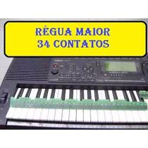 Réguas Teclado Yamaha Psr3000 Kit / Par Novo Frete Grátis