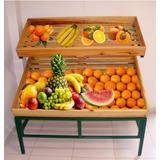 4 Expositores Frutas, Legumes, Sacolão, Mercado -hortifruti