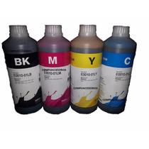 Kit 4 Tintas Epson Dye Inktec L120 L200 L210 L355 L555 500ml