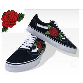 Tenis Vans Old Skool Blak Rose Skate Promoção+ Brinde +caixa