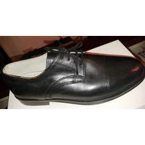 Zapatos Para Uniforme De Hombre - Bomberos - Piscue