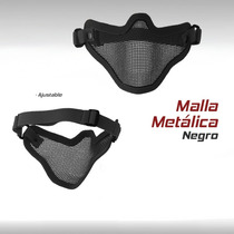 Mascara Mask Malla Metalica Militar Gotcha Paintball Airsoft