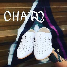 Chatita Sueco Dama Sintetico Tachas Moda 2018 Charo