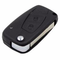 Chave Canivete Fiat Punto Idea Linea Stilo C/ Emblema Fiat