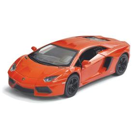 Carrinho De Coleção Lamborghini Aventador Lp700-4 1/38 Metal