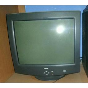 Monitor Negro Ctrt 17 Marca Dell 100% Operativo