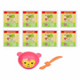 Kit Baby Alive - 8 Comidinhas + Prato E Colher - Hasbro