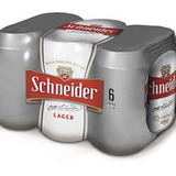 Cerveza Schneider Lata 354 Ml - Funda X 6 -100% Consignación