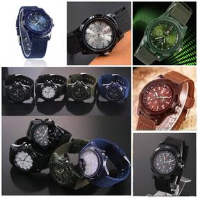 Reloj Gemius Army Estilo Militar De Moda Hombres, Dial 38 Mm
