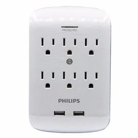 Supresor De Picos Para Pared Philips 6 - 2 Spp6263b/85