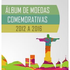 Álbum Estojo Moedas Olimpíadas 2016
