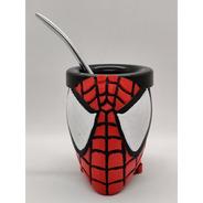 Mate Spiderman Impreso En 3d