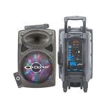 Bafle Bocina Amplificado 12 Recargable Donker Msa-9012 7500w